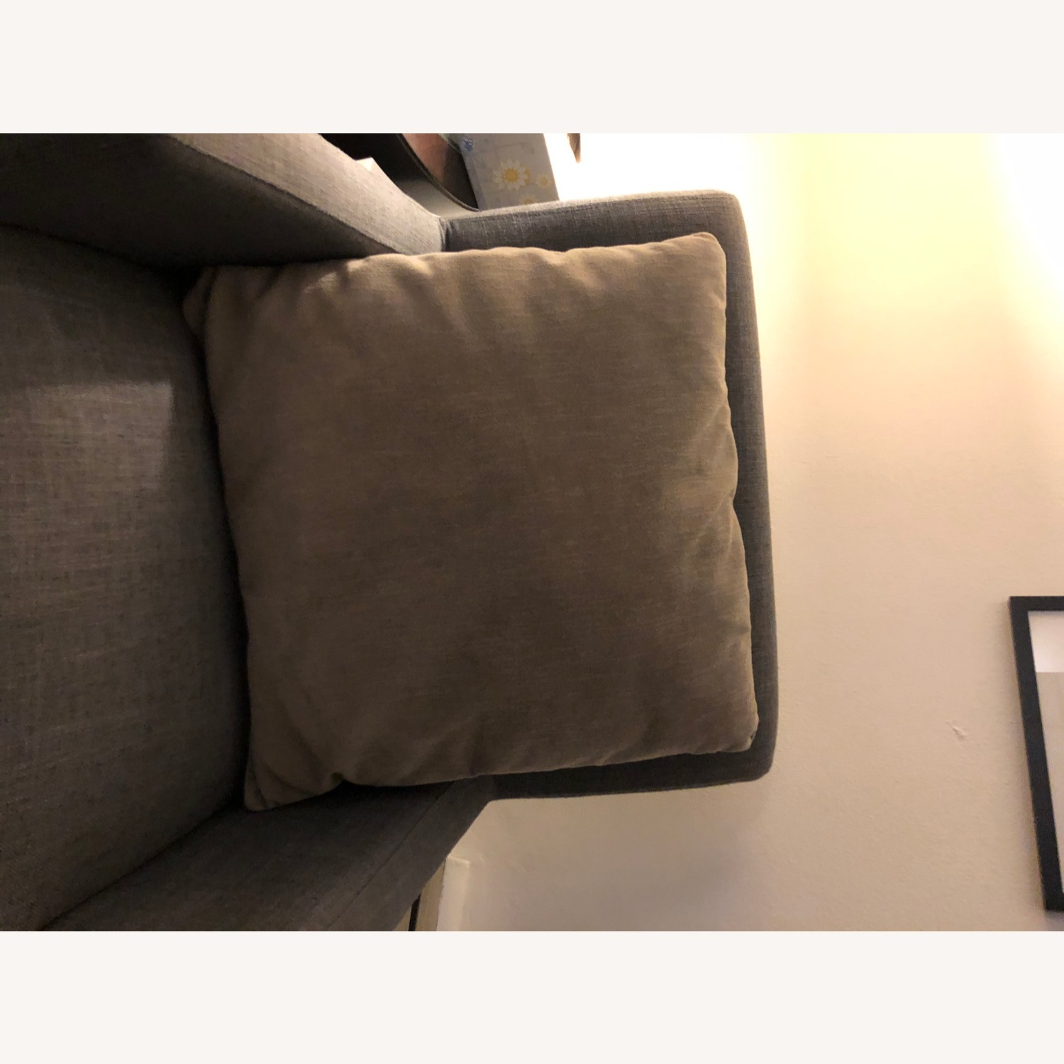 Macy's Taupe Decorative Pillows (Set of Two) - image-1