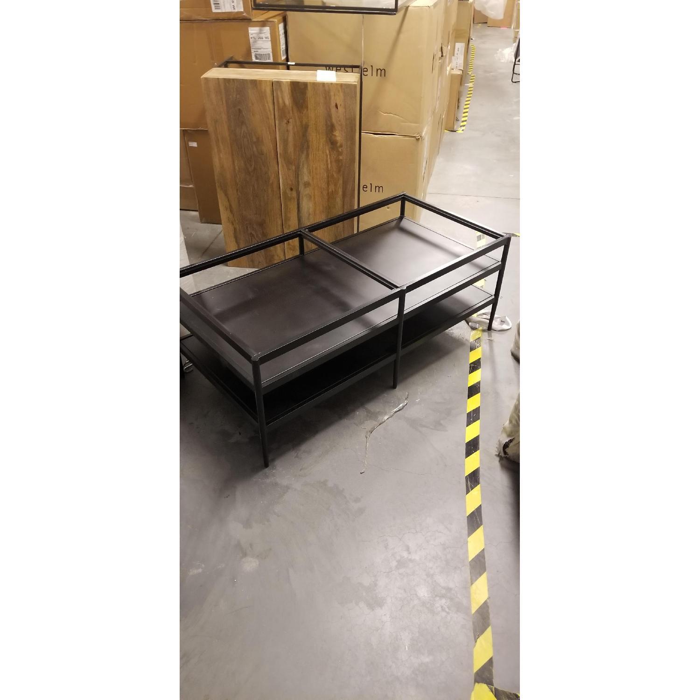West Elm Soldar Display Coffee Table - image-4