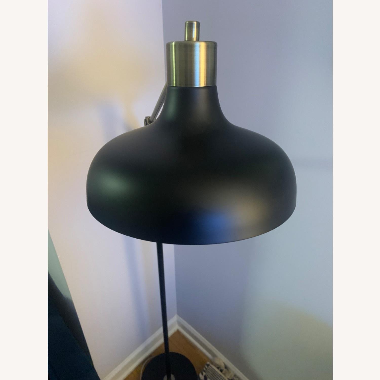 Target Crosby Schoolhouse Floor Lamp Black w/ Gold - image-3