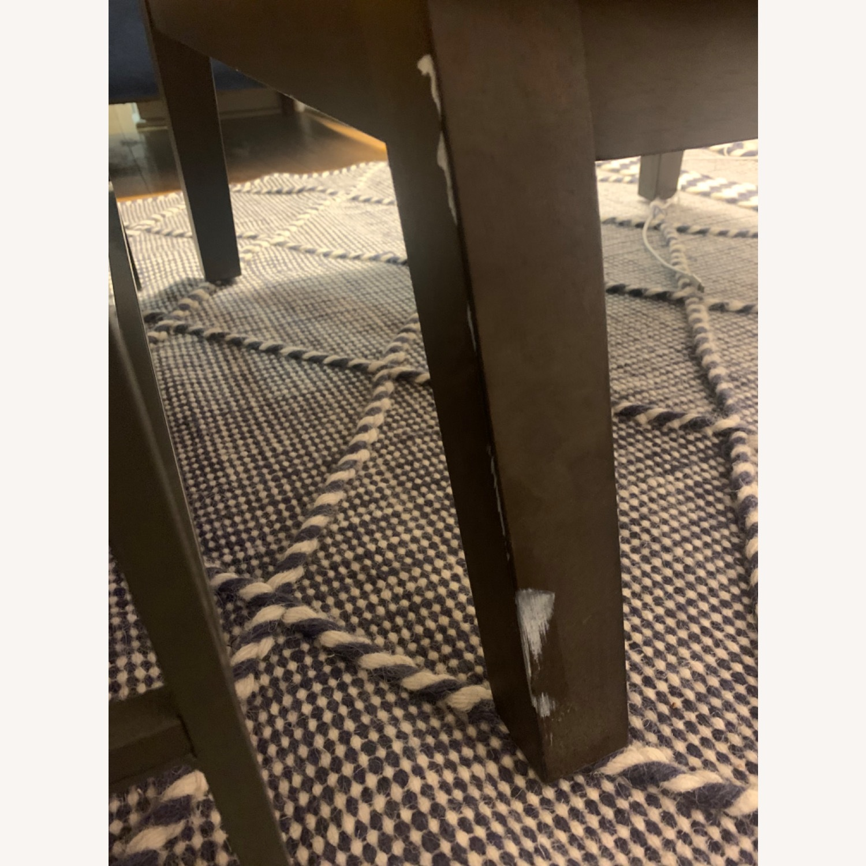 West Elm Orange Tan Leather Chair - image-4