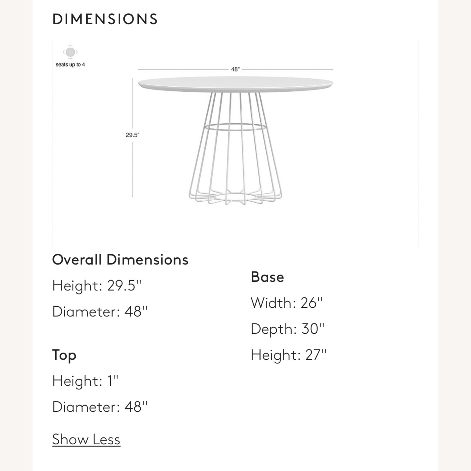 CB2 Compass Table - image-4
