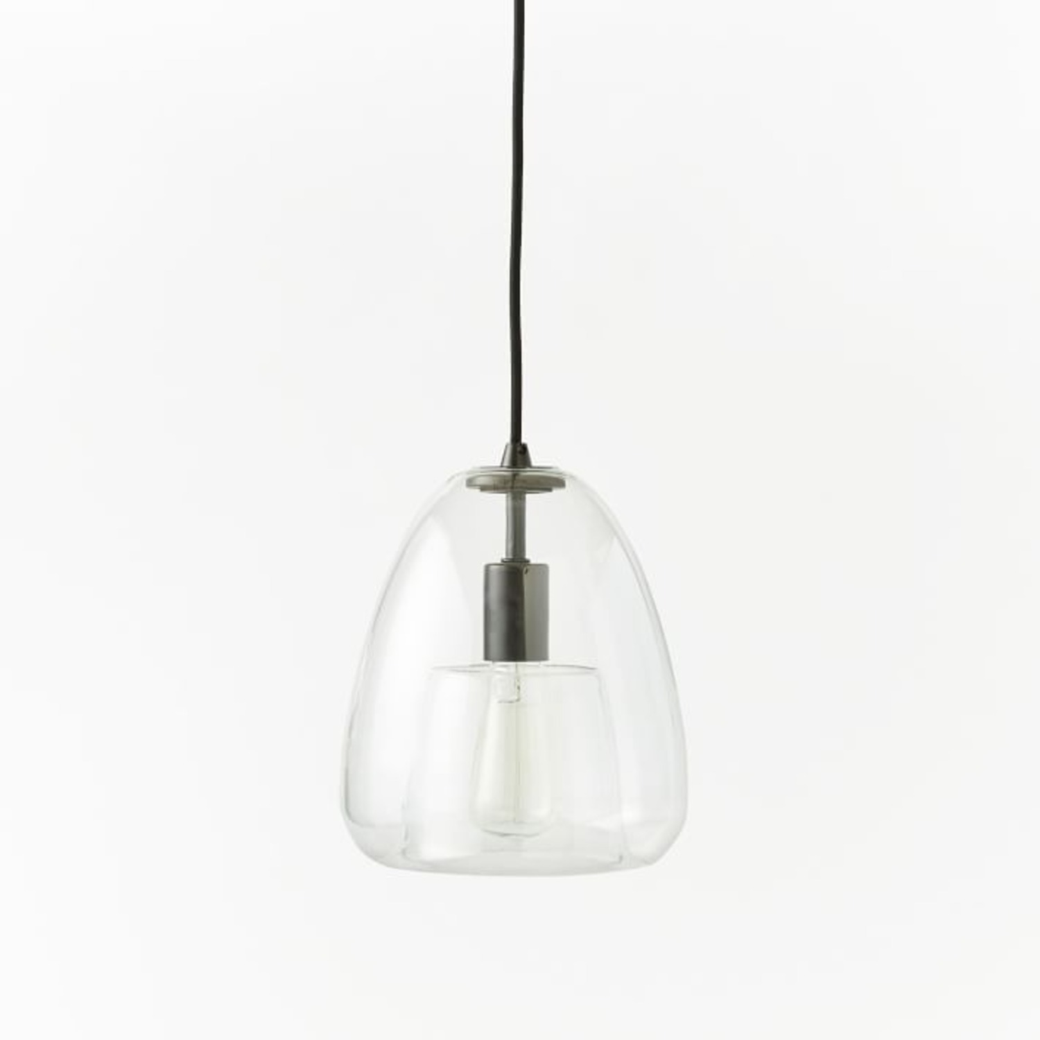 West Elm Duo Walled Pendant - image-1