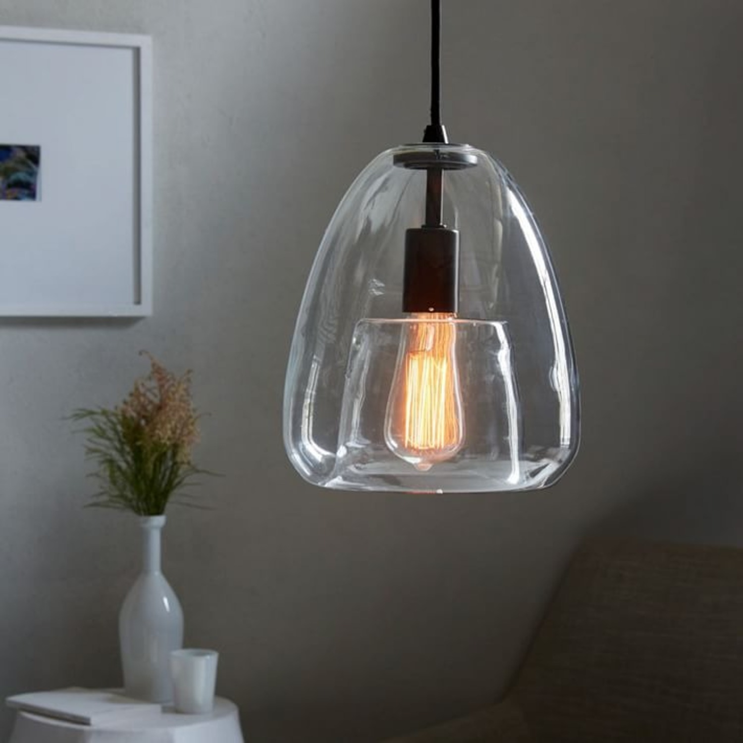 West Elm Duo Walled Pendant - image-3