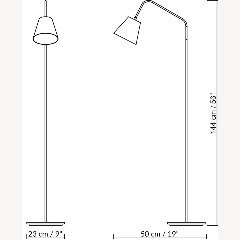 Blueground Floor Lamp Black & Brass - image-2