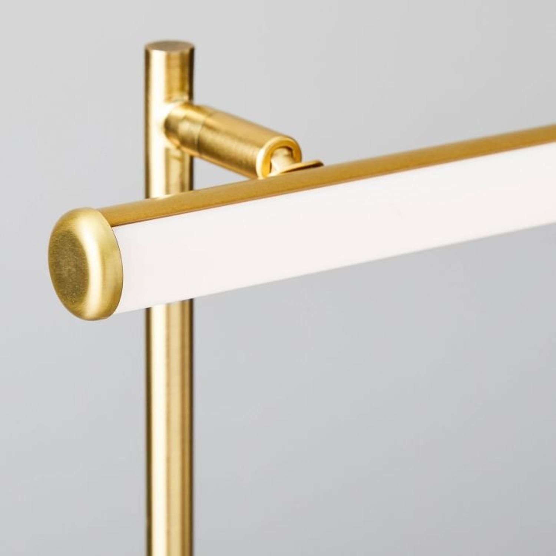 West Elm Light Rods LED Reader Floor Lamp - image-3