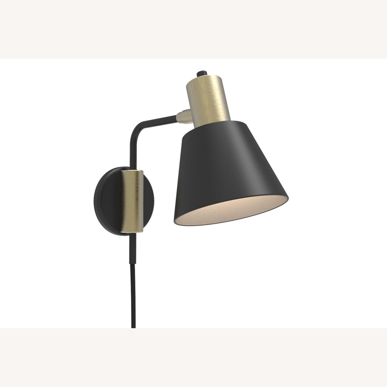 Blueground Sconce Bedside Lamp Bronze Black - image-1