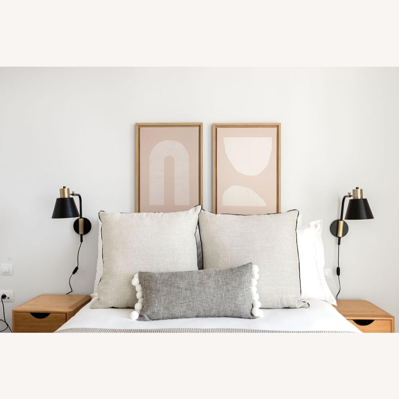 Blueground Sconce Bedside Lamp Bronze Black - image-2