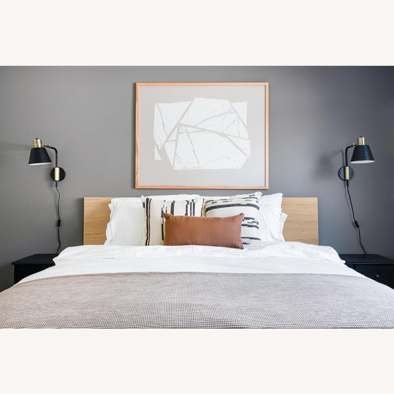 Blueground Sconce Bedside Lamp Bronze Black - image-4