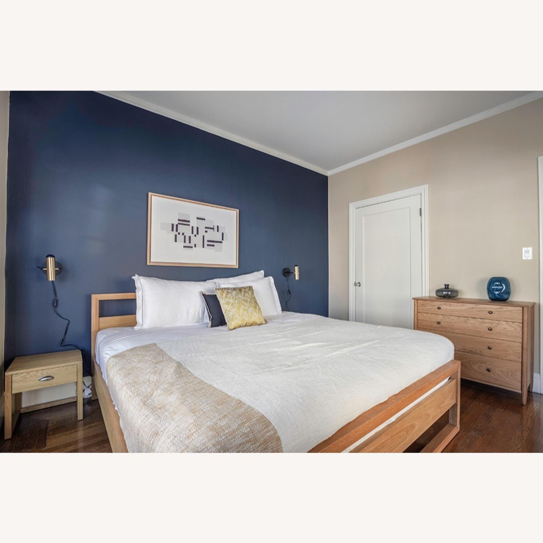 Blueground Sconce Bedside Lamp Brass - image-4