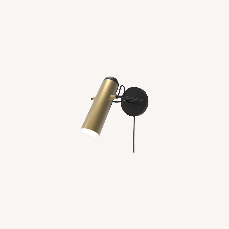 Blueground Sconce Bedside Lamp Brass - image-0