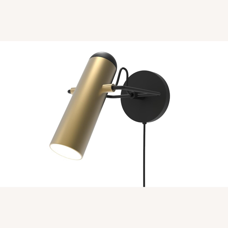 Blueground Sconce Bedside Lamp Brass - image-1