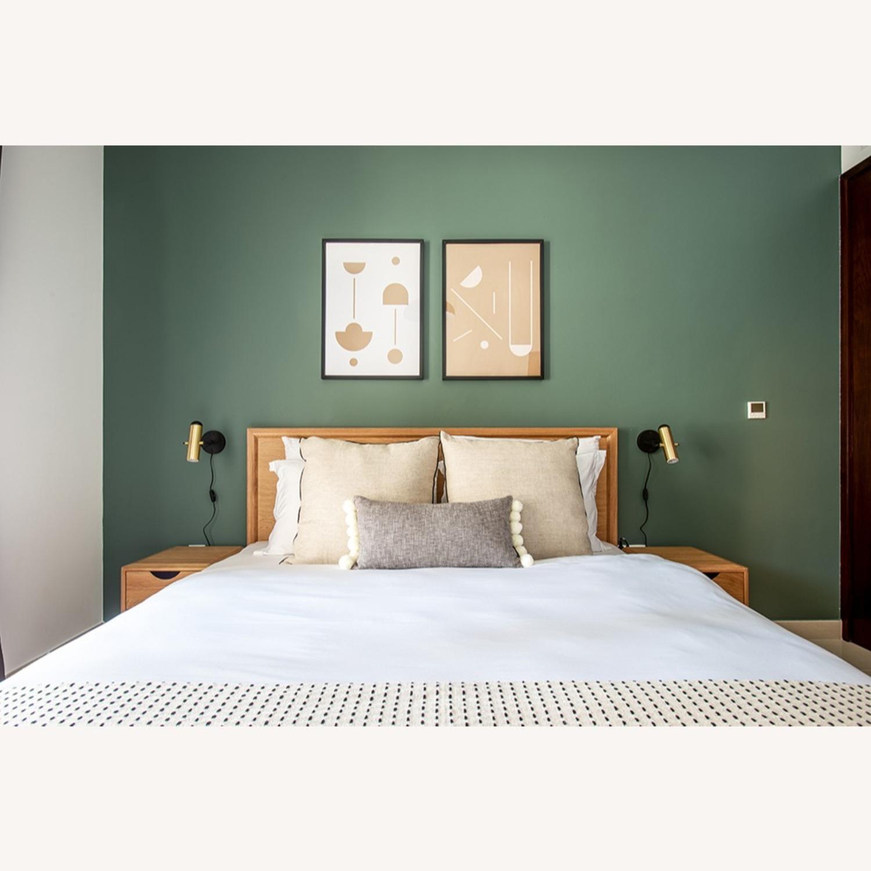 Blueground Sconce Bedside Lamp Brass - image-3