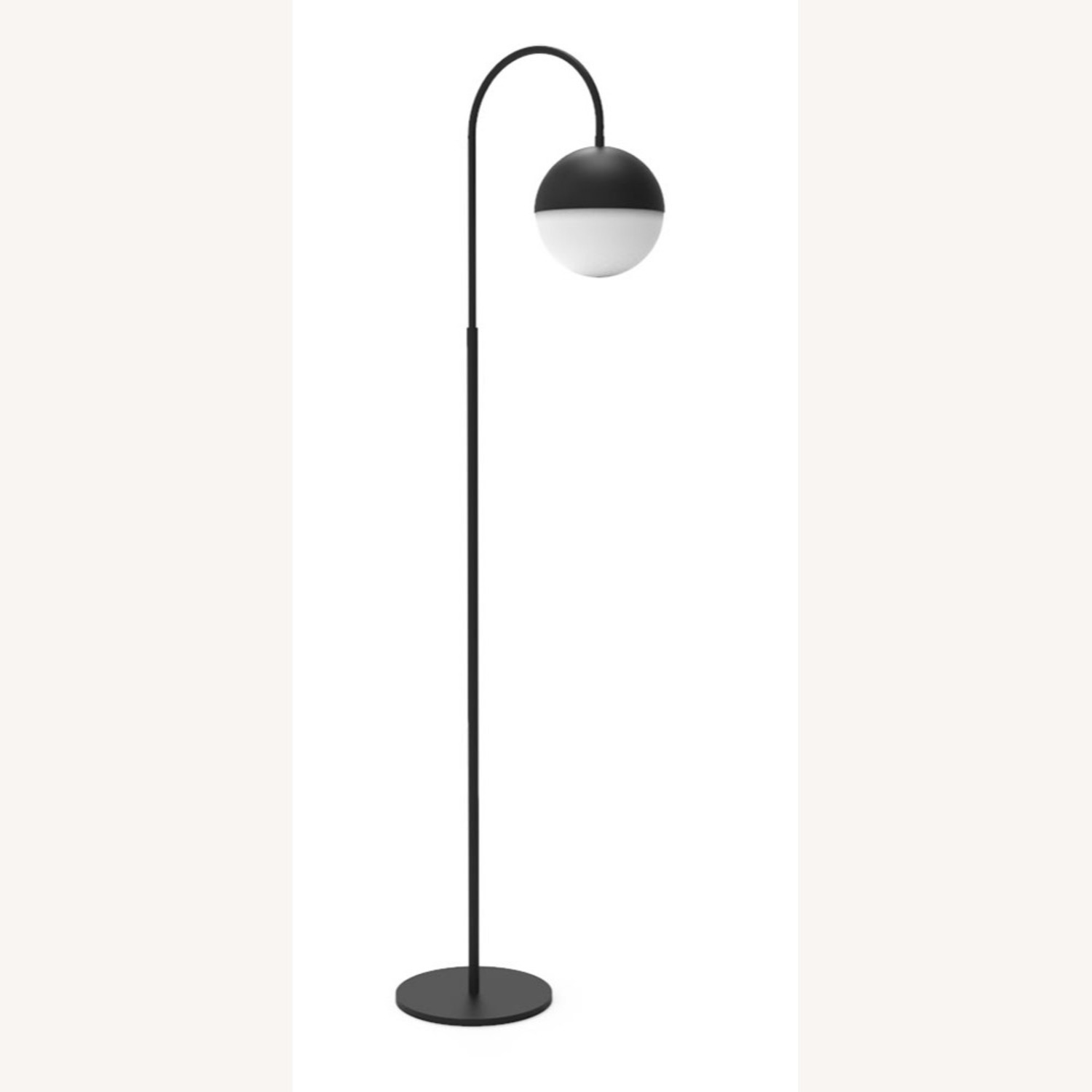 Blueground Floor Lamp Black - image-1