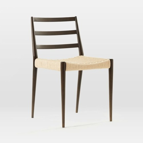 Used West Elm Holland Woven Dining Chair for sale on AptDeco