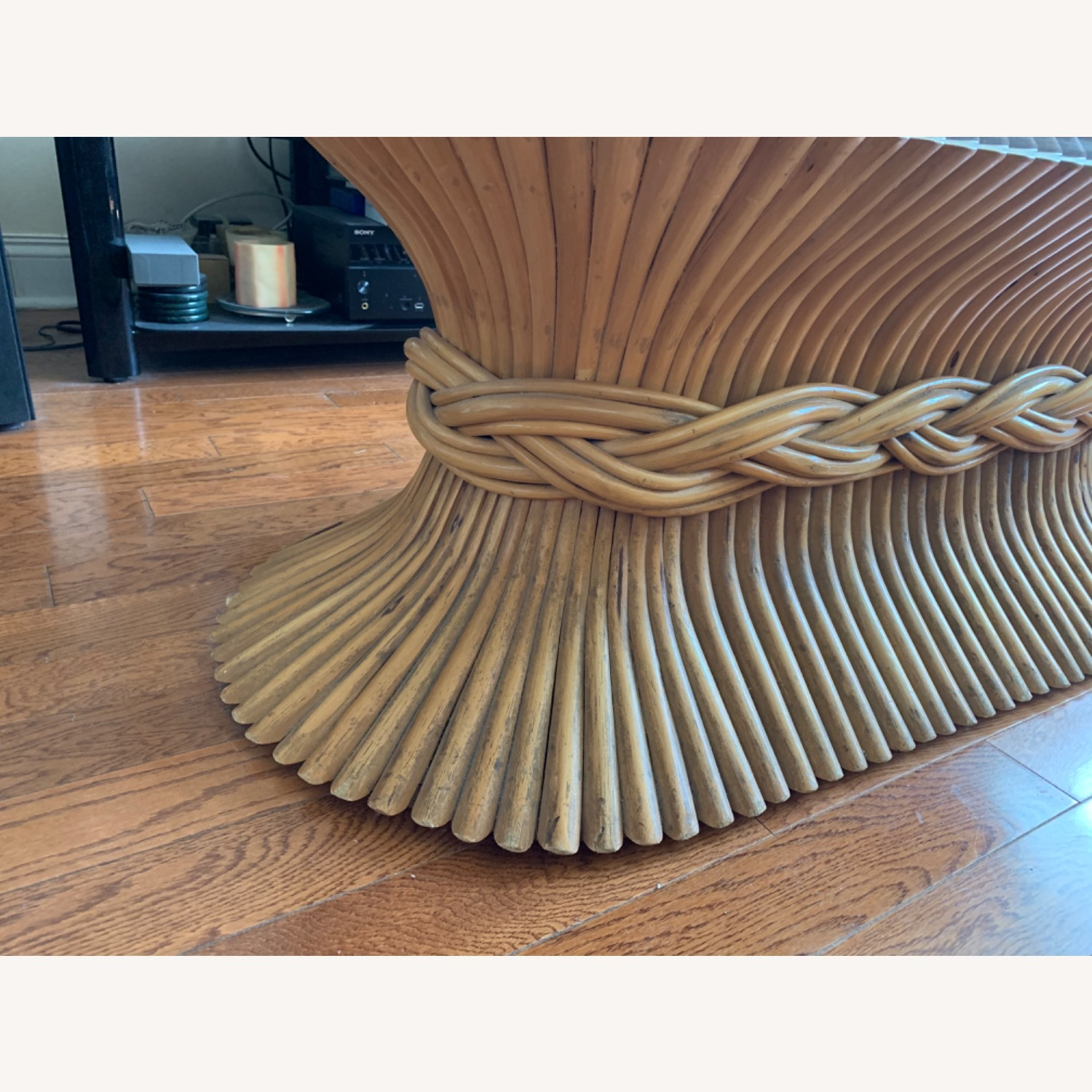 Vintage Bamboo Coffee Table - image-5
