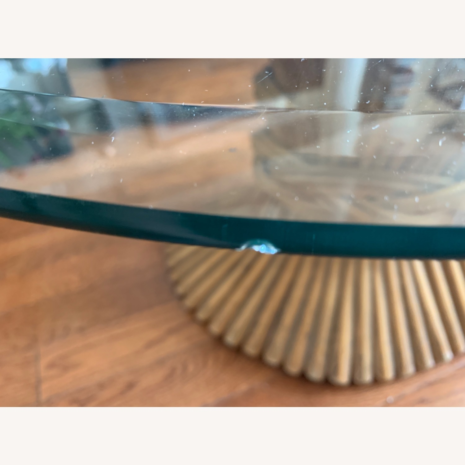 Vintage Bamboo Coffee Table - image-4