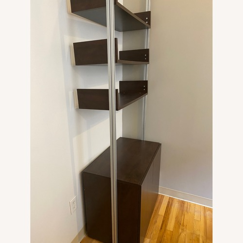 Used CISCO Brothers Brown Modern Floating Bookshelf for sale on AptDeco