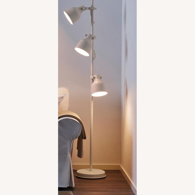 IKEA Hektar Floor Lamp White - image-2