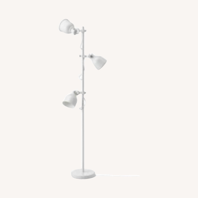IKEA Hektar Floor Lamp White - image-0