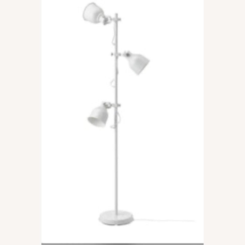 IKEA Hektar Floor Lamp White - image-1