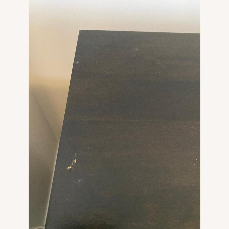 Wooden Smoke Black TV/Media Stand - image-6