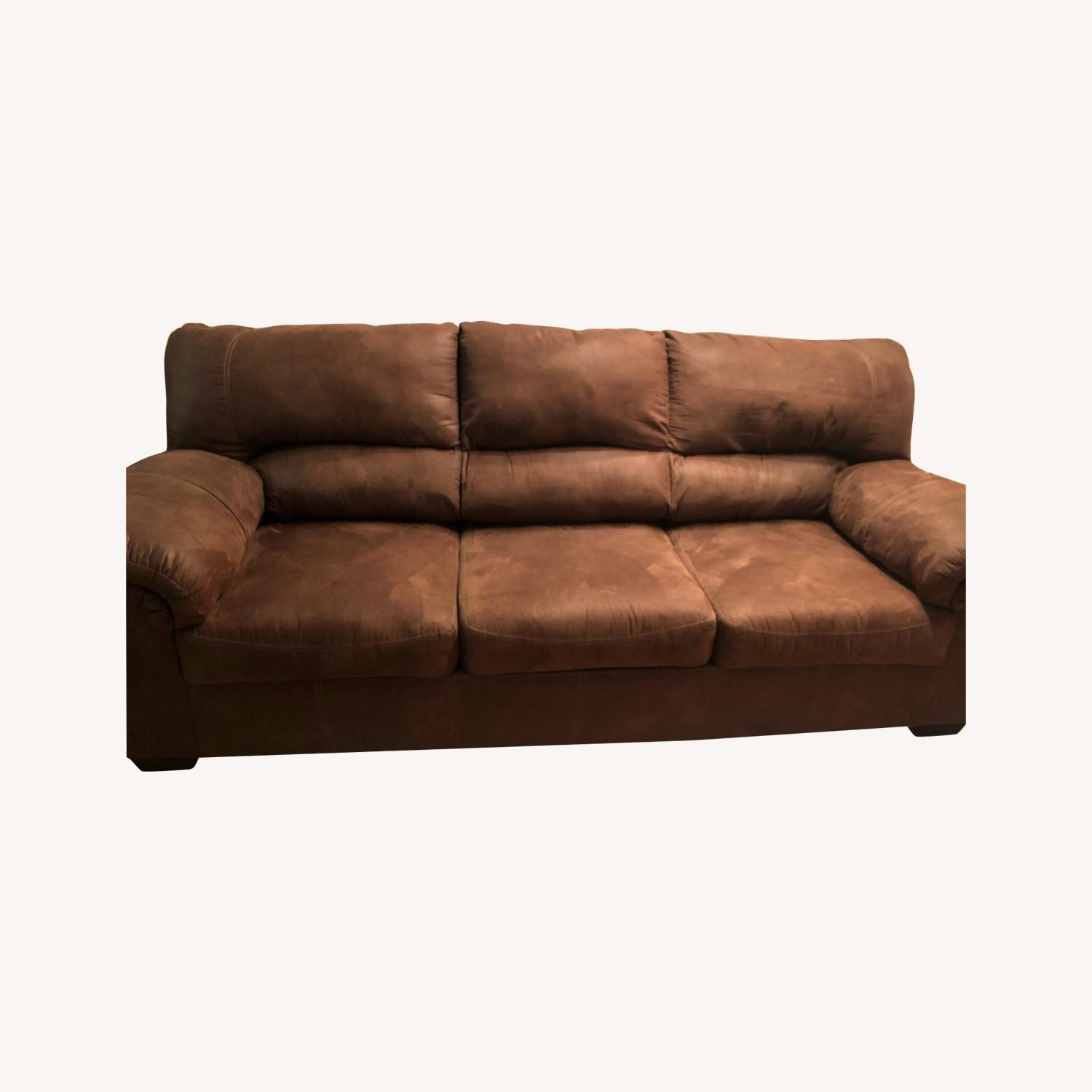 Picture of: Ashley Furniture Bladen Coffee Full Convertible Sofa Sleeper Aptdeco