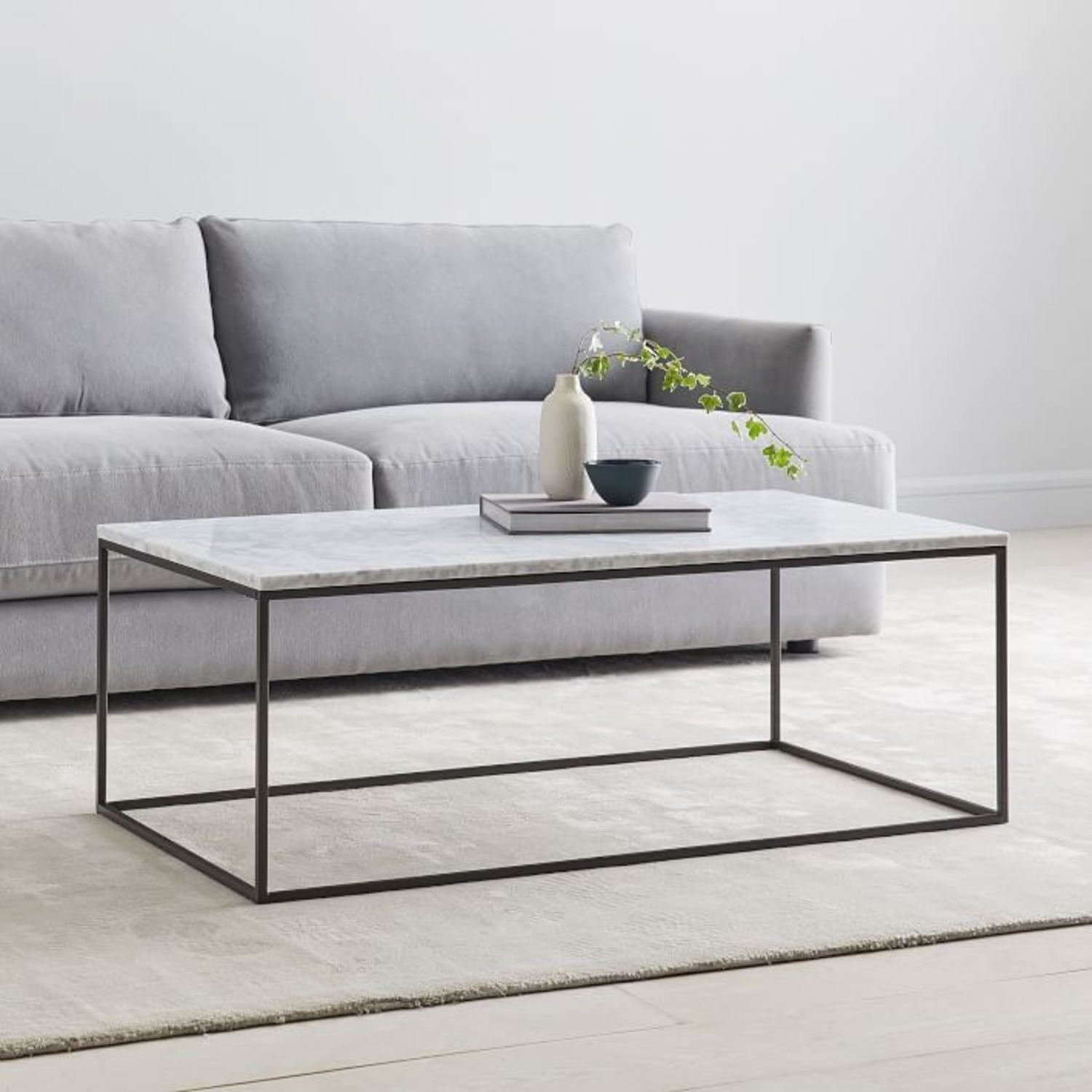 Quiz What Is Your Garden Style: West Elm Streamline Coffee Table