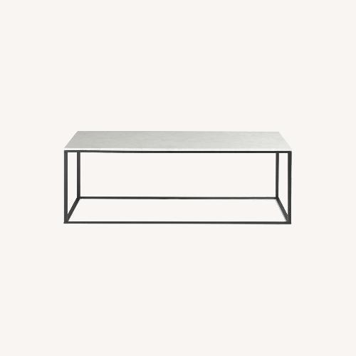 Used Blu Dot Marble Coffee Table for sale on AptDeco