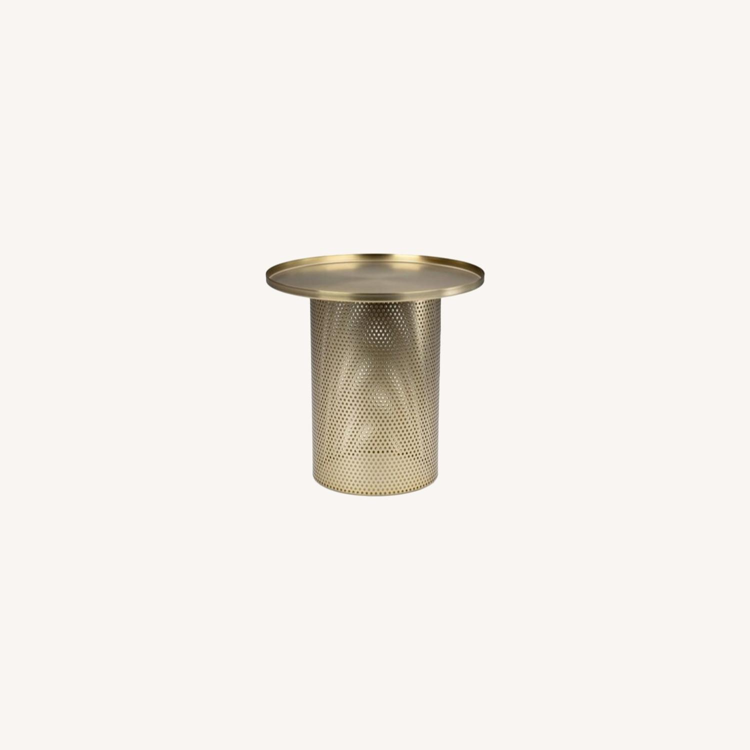 Article Equa Side Table Brushed Brass - image-0