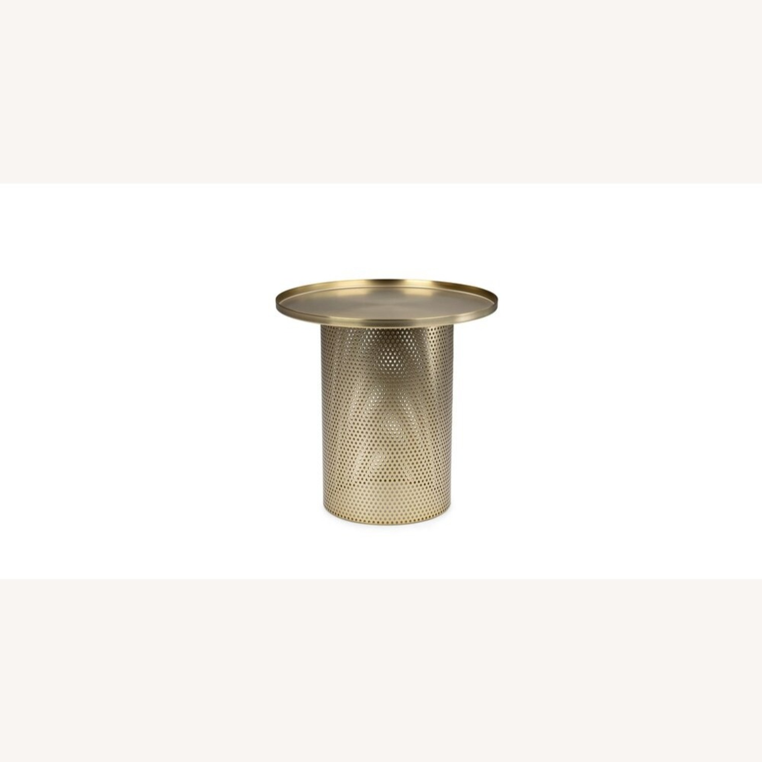 Article Equa Side Table Brushed Brass - image-1