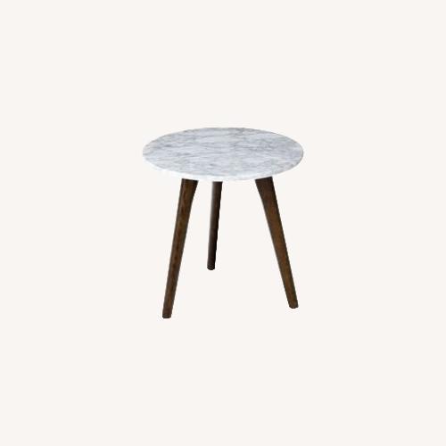 Used Article Mara Side Table Walnut for sale on AptDeco