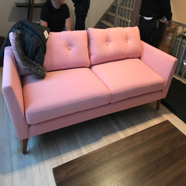 Article Emil Mid-Century Modern Sofa Quartz Rose - image-4