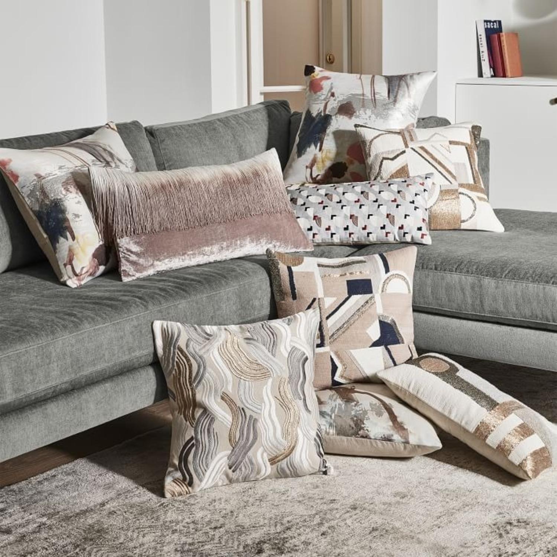 West Elm Embellished Deco Mix Pillow - image-2