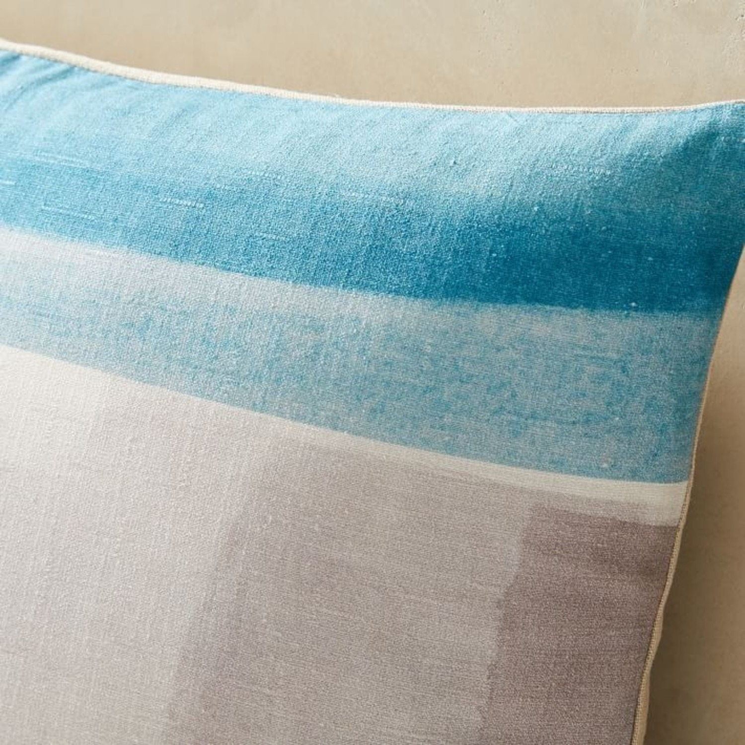 West Elm Abstract Color Field Pillow - image-3