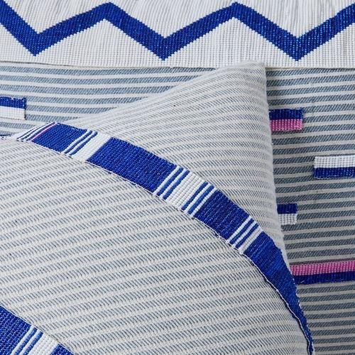 Used West Elm Roar + Rabbit Beaded Pillow for sale on AptDeco