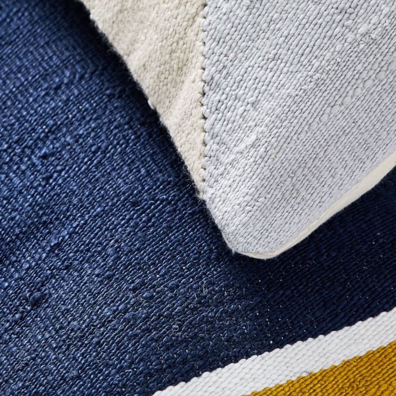 West Elm Spliced Colorfield Pillow - image-2