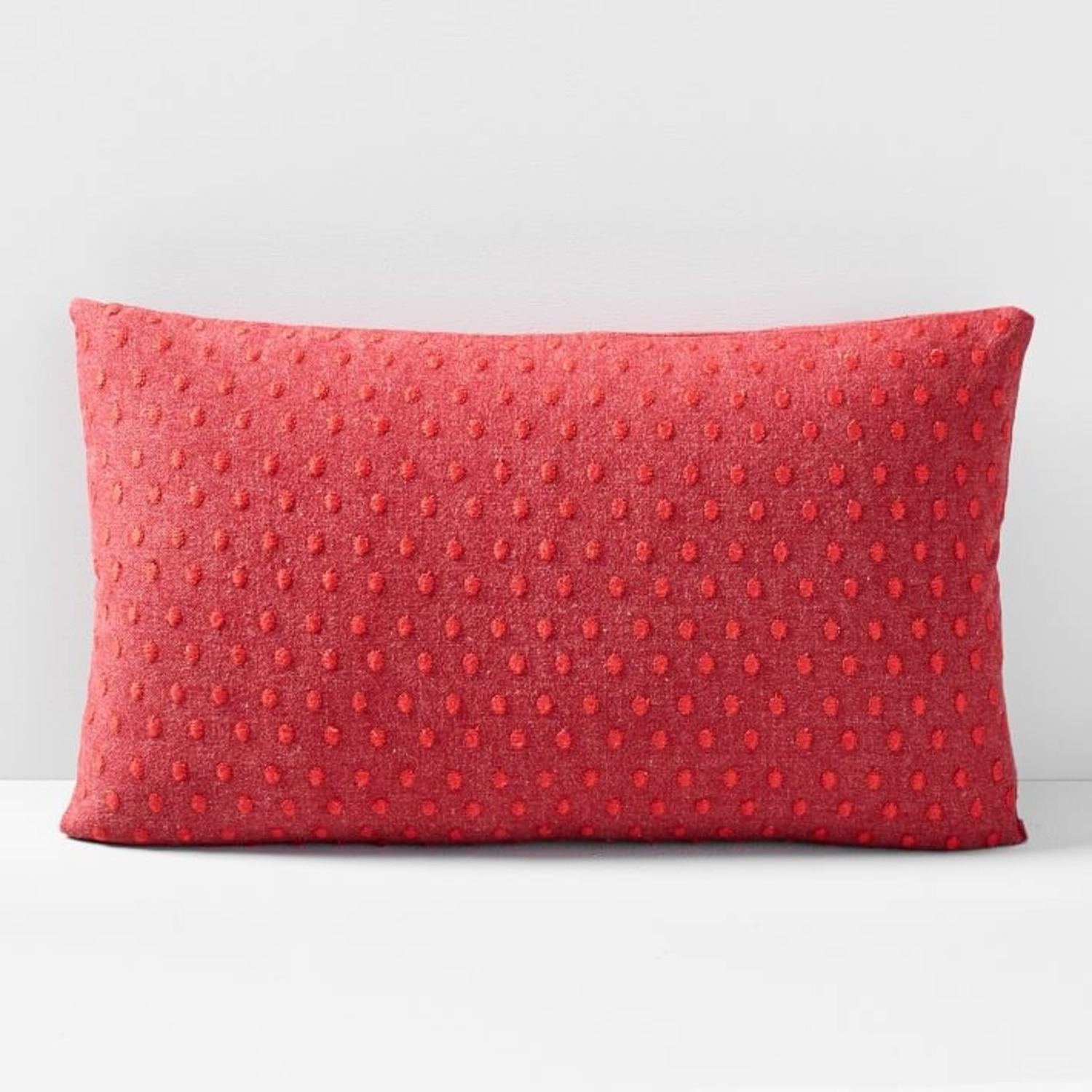 West Elm Embroidered Dot Pillow - image-2