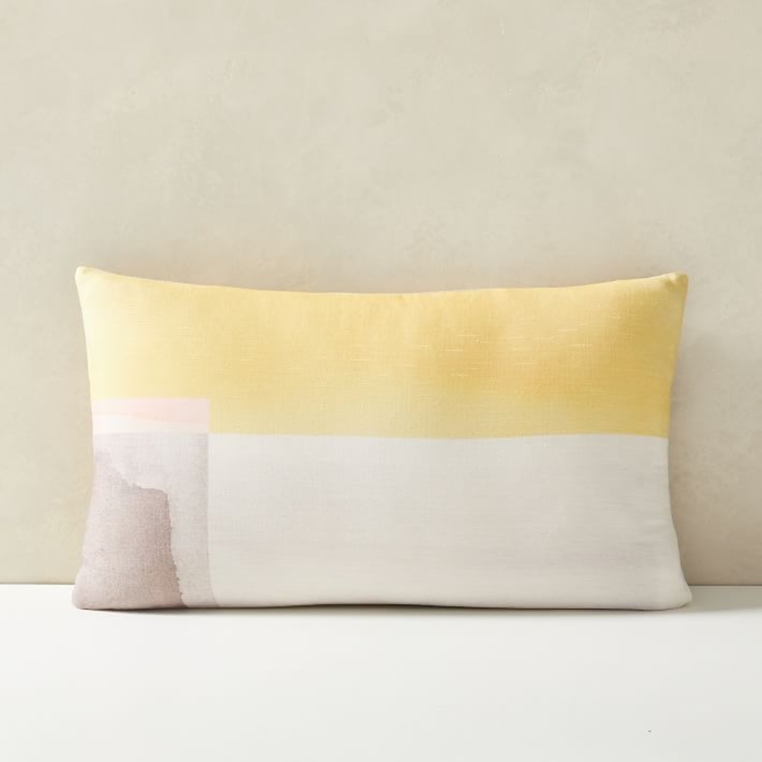 West Elm Watercolor Horizon Pillow - image-2