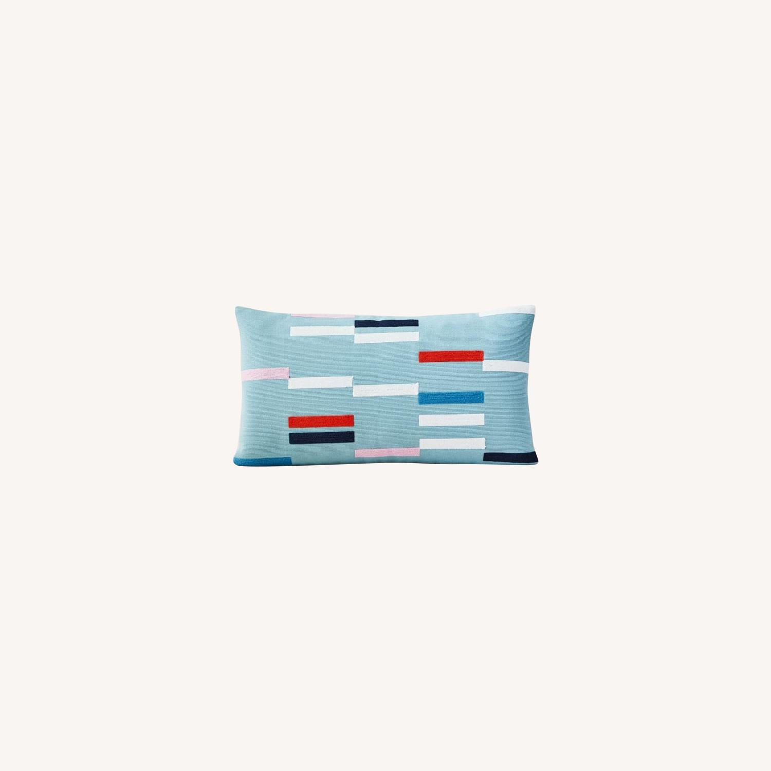 West Elm Margo Selby Staggered Stripe Pillow - image-0