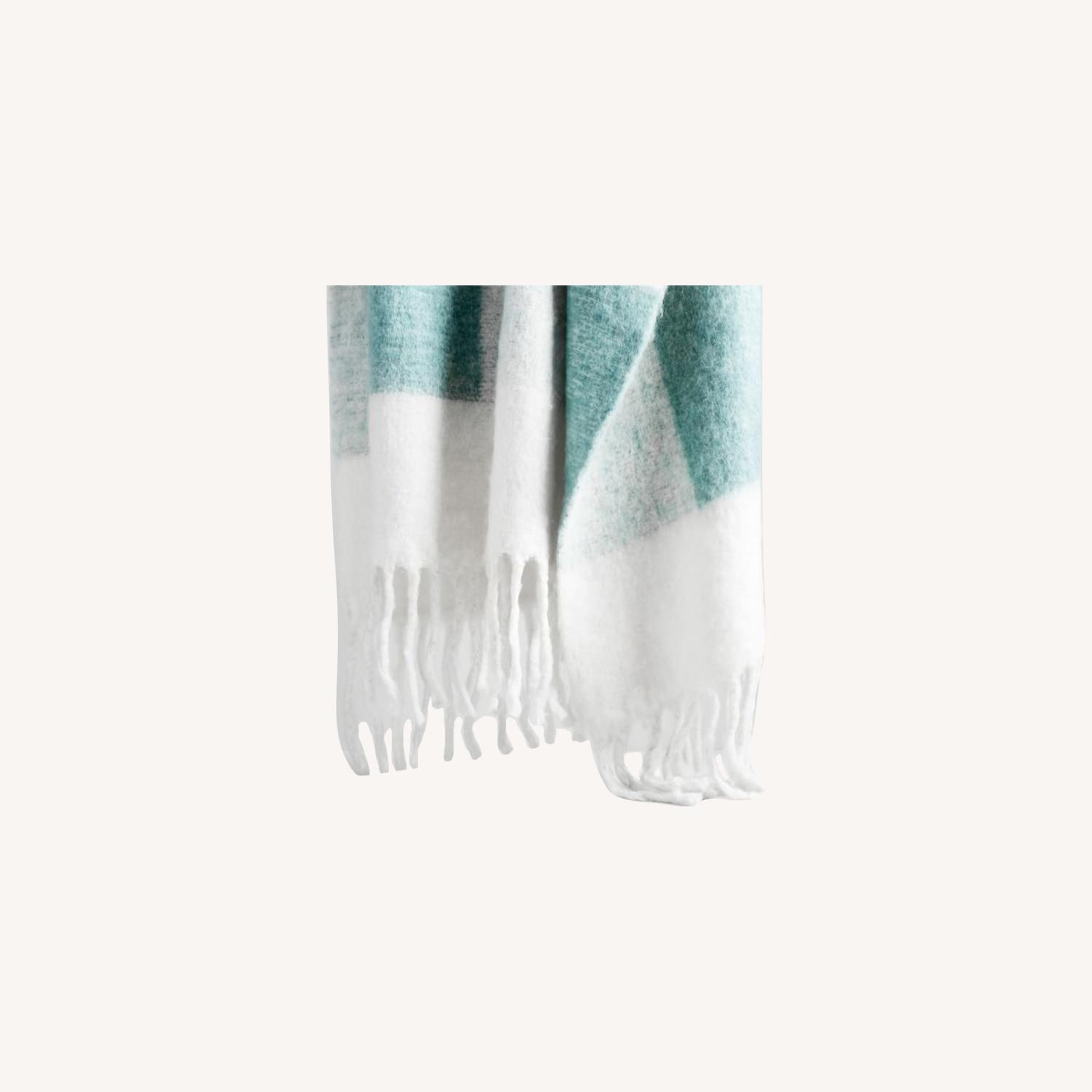 West Elm Buffalo Soft Touch Throw - image-0