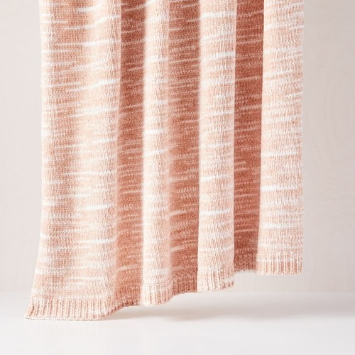 Used West Elm Marled Luxe Chenille Throw for sale on AptDeco