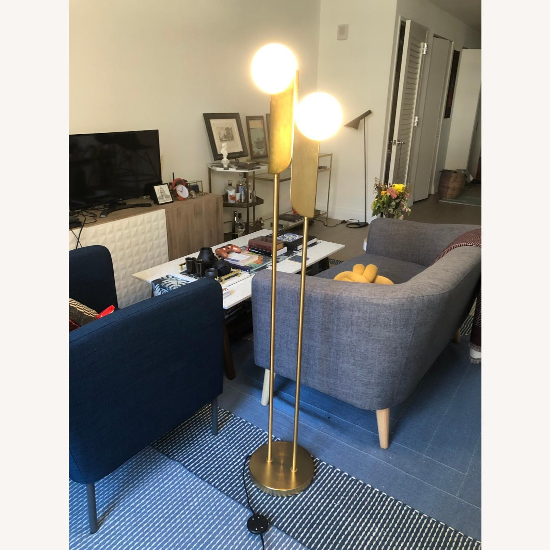 West Elm Bower Led Floor Lamp Aptdeco