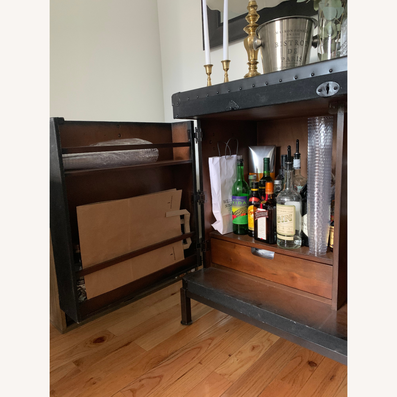 Pottery Barn Ludlow Trunk Bar Cabinet Aptdeco