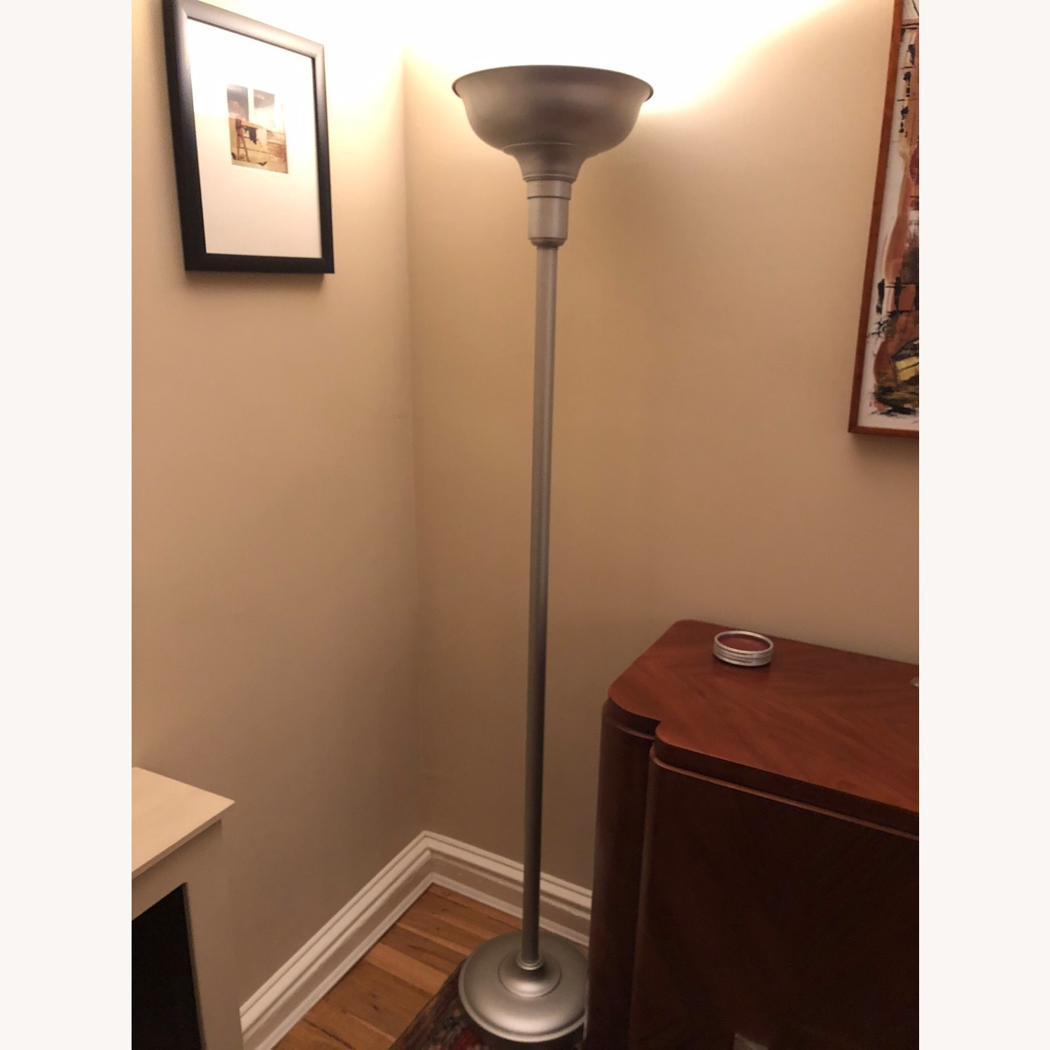 Professionally Restored Art Deco Floor Lamp - image-1