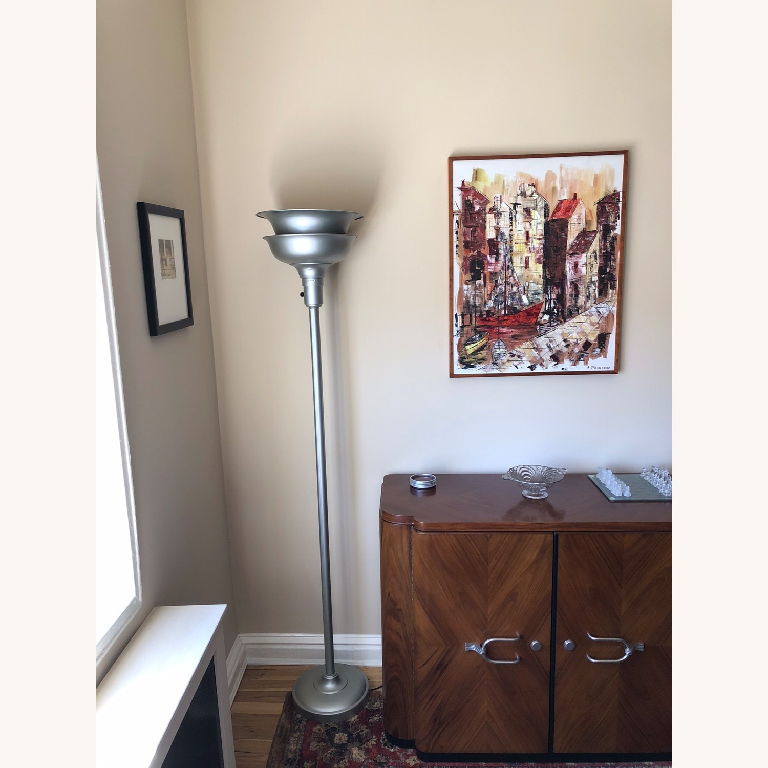 Professionally Restored Art Deco Floor Lamp - image-2