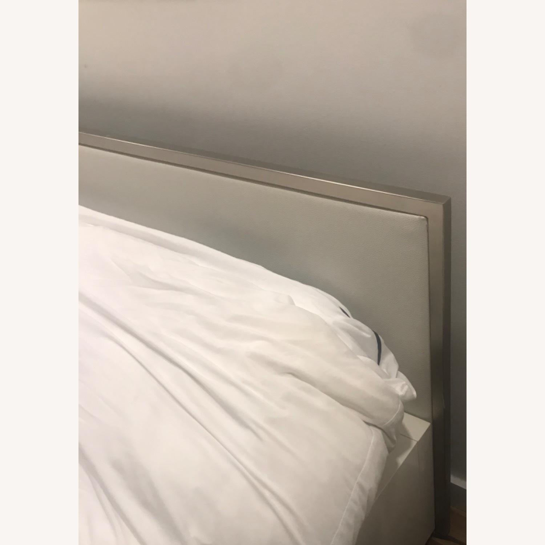 BoConcept Modern White Queen Storage Bed - image-3