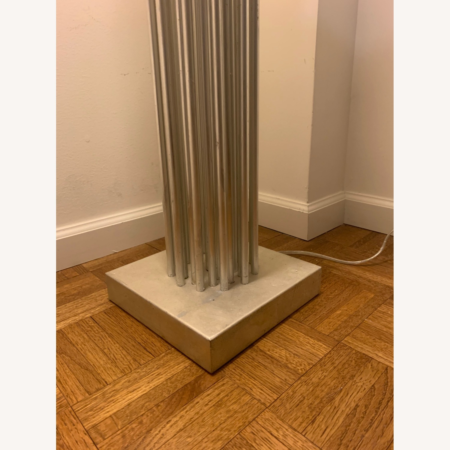 Worlds Away Gibson Silver Floor Lamp - image-5