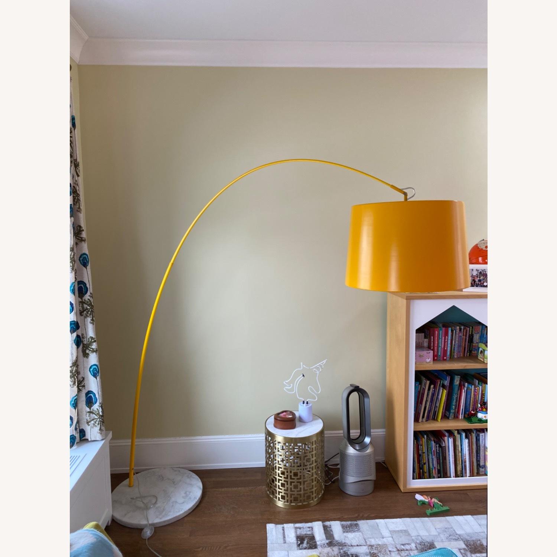 Yellow Zuo Floor Lamp w Marble Base - image-4