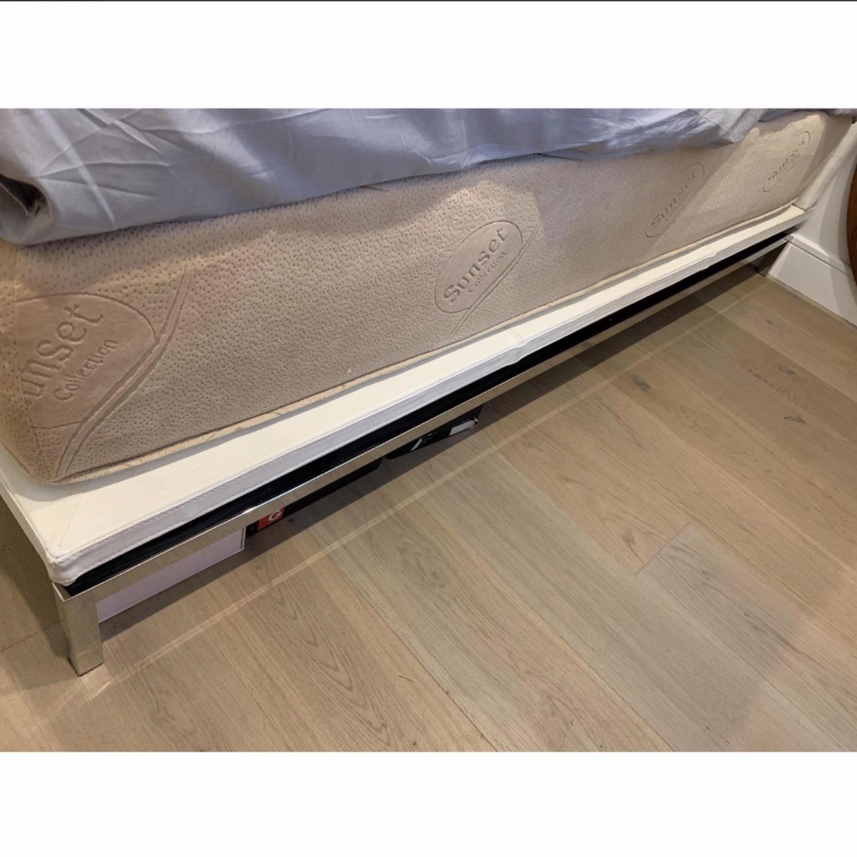 Nuevo Living Upholstered White Platform Bed - image-4