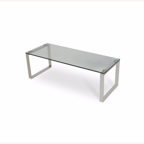 Used sohoConcept Calvin Glass Series Coffee Table for sale on AptDeco